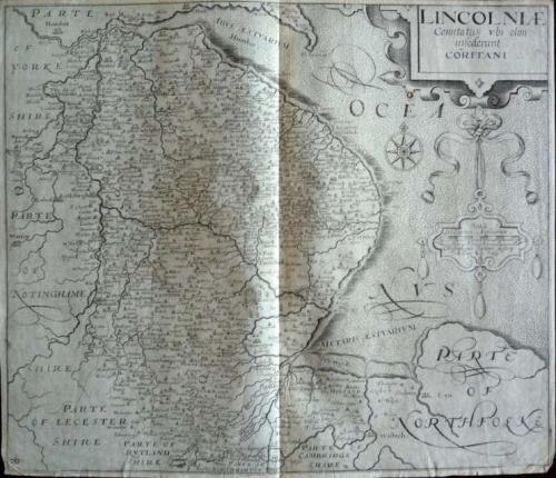 Saxton / Kip - Lincolniae comitatus
