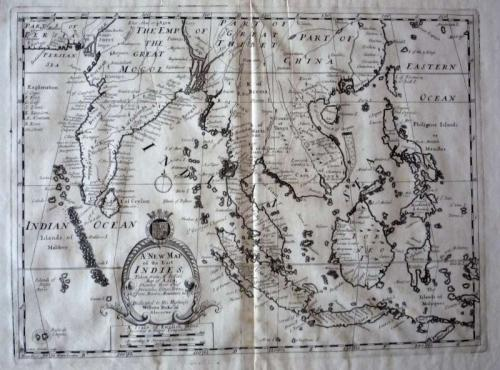 RESERVED A New Map of the East Indies...