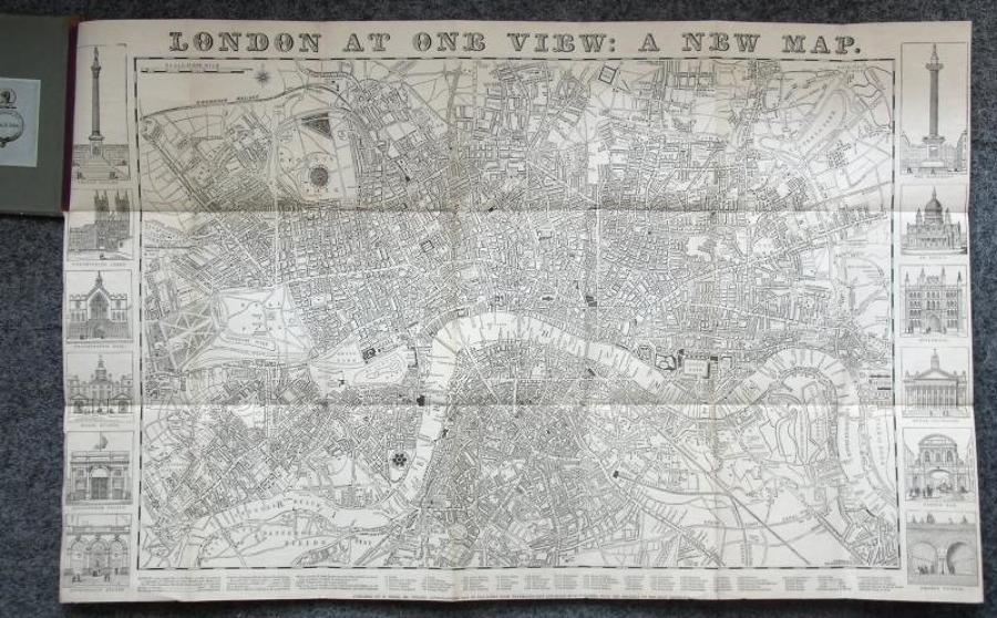Biggs - London At One View: A New Map