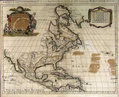 De L'Isle - America Septentrionalis