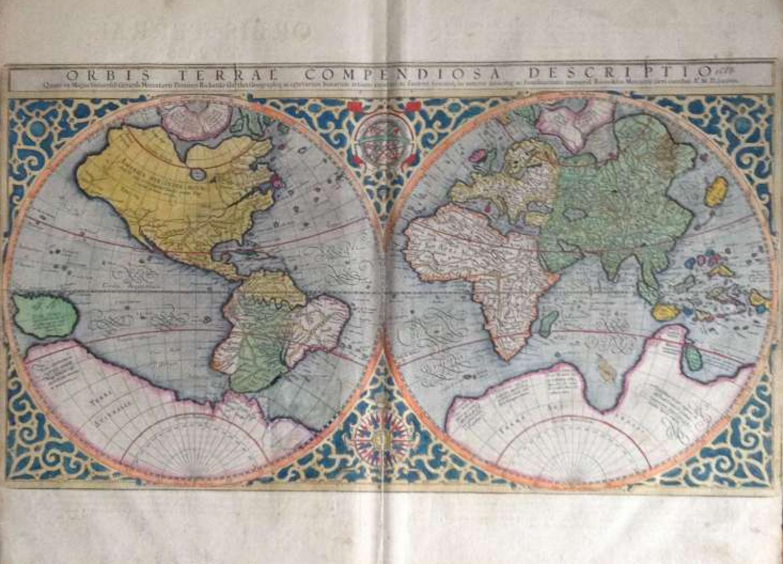 Mercator -Orbis Terrae Compendiosa Descriptio
