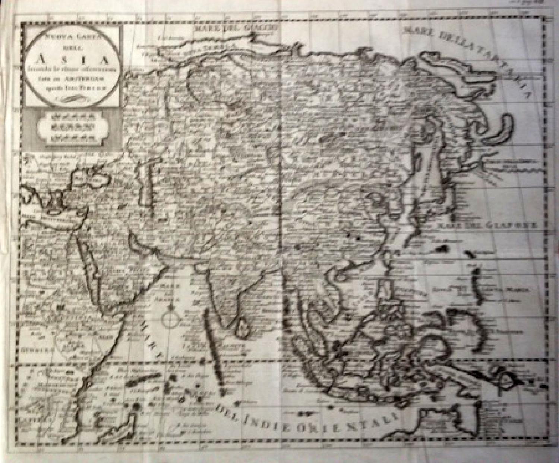 Tirion - Nieuwe kaart van Asia