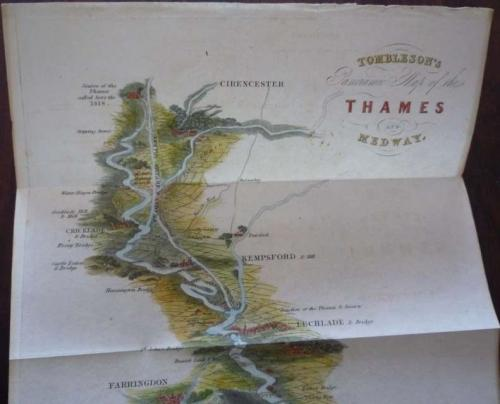 SOLD Tombleson's Panoramic Map Of The Thames & Medway