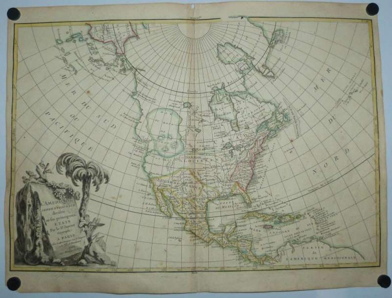 Janvier - L'Amerique Septentrionale