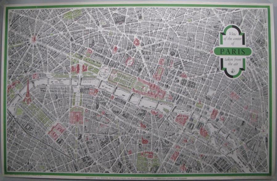Blondel La Rougery - View the Center of Paris