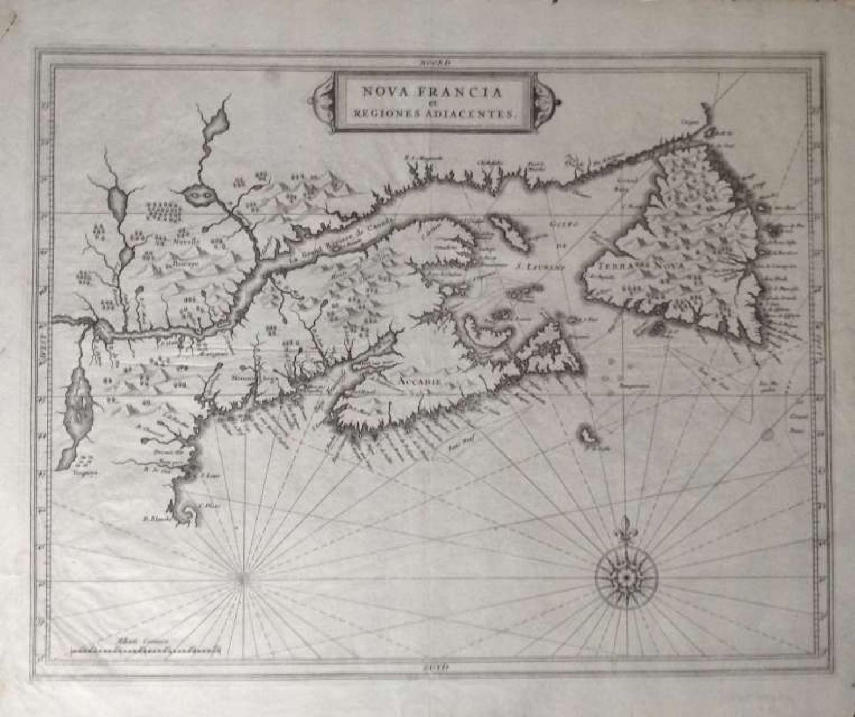 De Laet - Nova Francia et Regiones Adiacentes