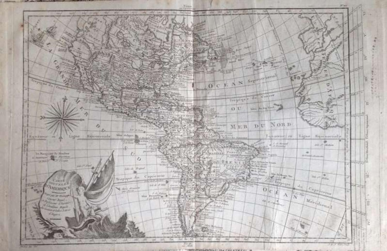 Pretot - Carte Nouvel le D'Amerique