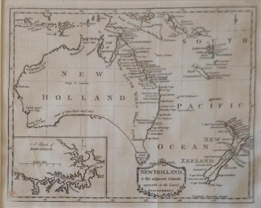 Kincaid - New Holland & the adjacent Islands