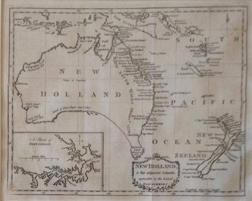 Kincaid - New Holland & the adjacent Islands