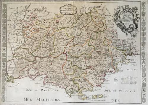 Daudet - Carte De La Provence