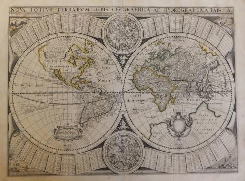 Tavernier -Carte universelle de tout le monde