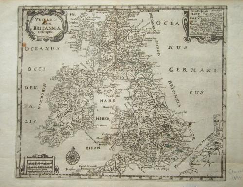 Cluver - Veteris et Novae Britanniae Descript