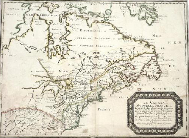 Sanson - Le Canada ou Nouvelle France &c