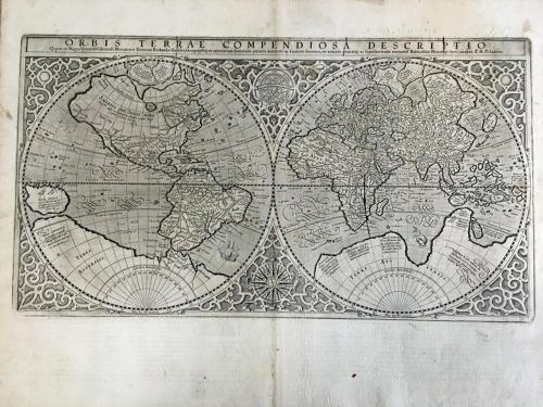 Mercator - Orbis Terrae Compendiosa Descripti
