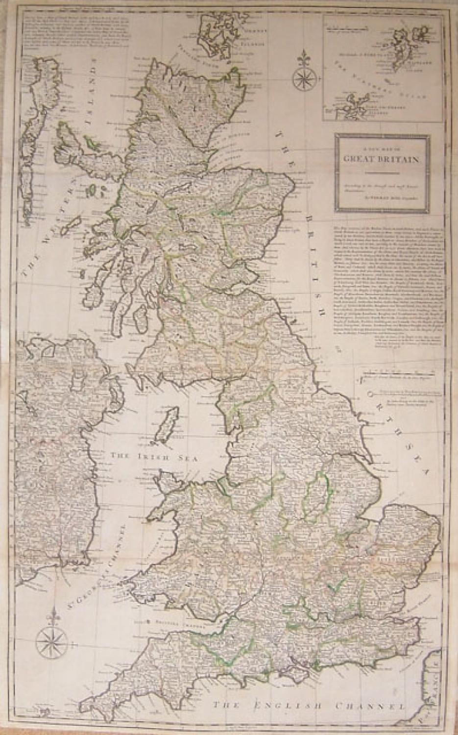 A New Map of Great Britain...