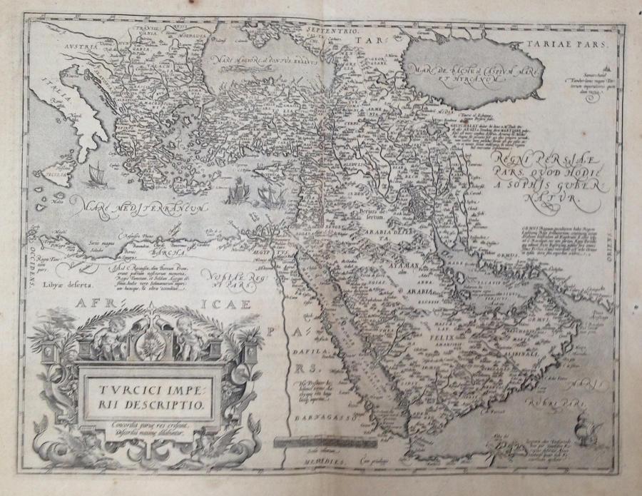 Ortelius - Turcici imperii descriptio