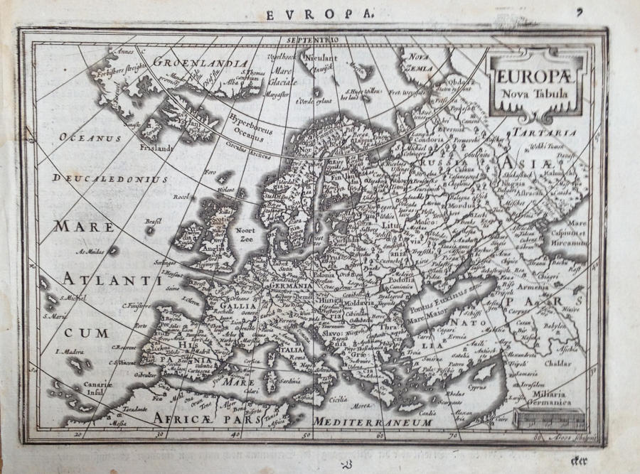 Mercator / Jansson - Europa