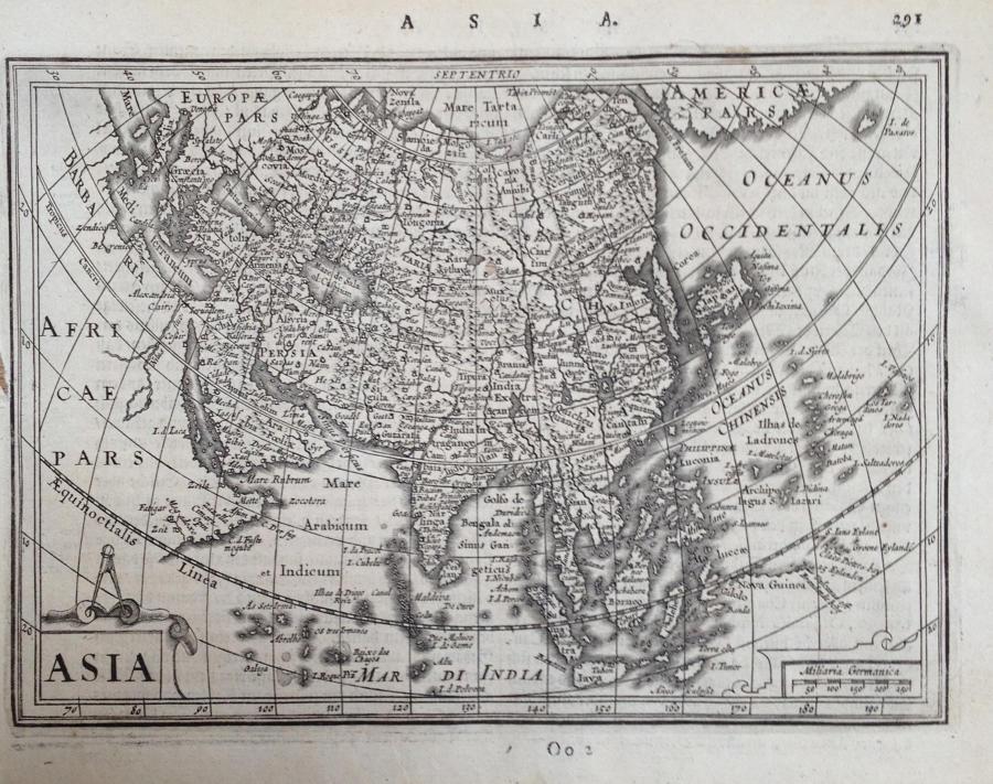 Mercator / Jansson - Asia