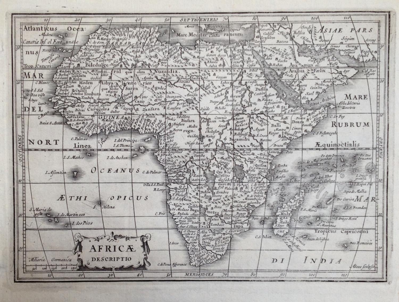 Mercator / Jansson - Africae Descriptio