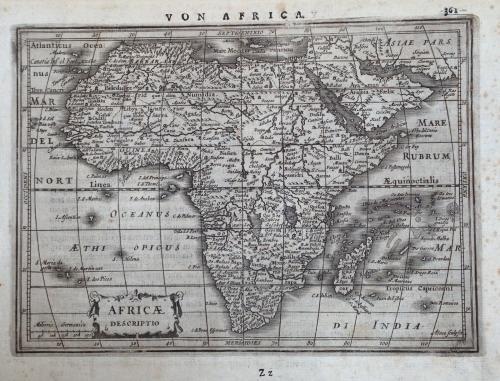 Mercator / Hondius - Africae Descriptio