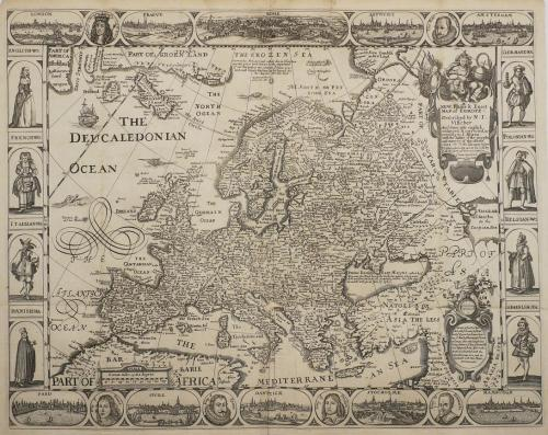 Walton - A New Plaine and Exact Map of Europe