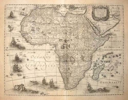 Hondius - Africae Nova Tabula