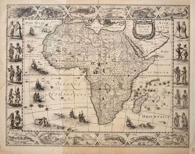 Hondius - Africae Nova Tabula - 1st state