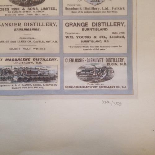 Mackinlay & Co - The Distillery Map Of Scotla in Scotland