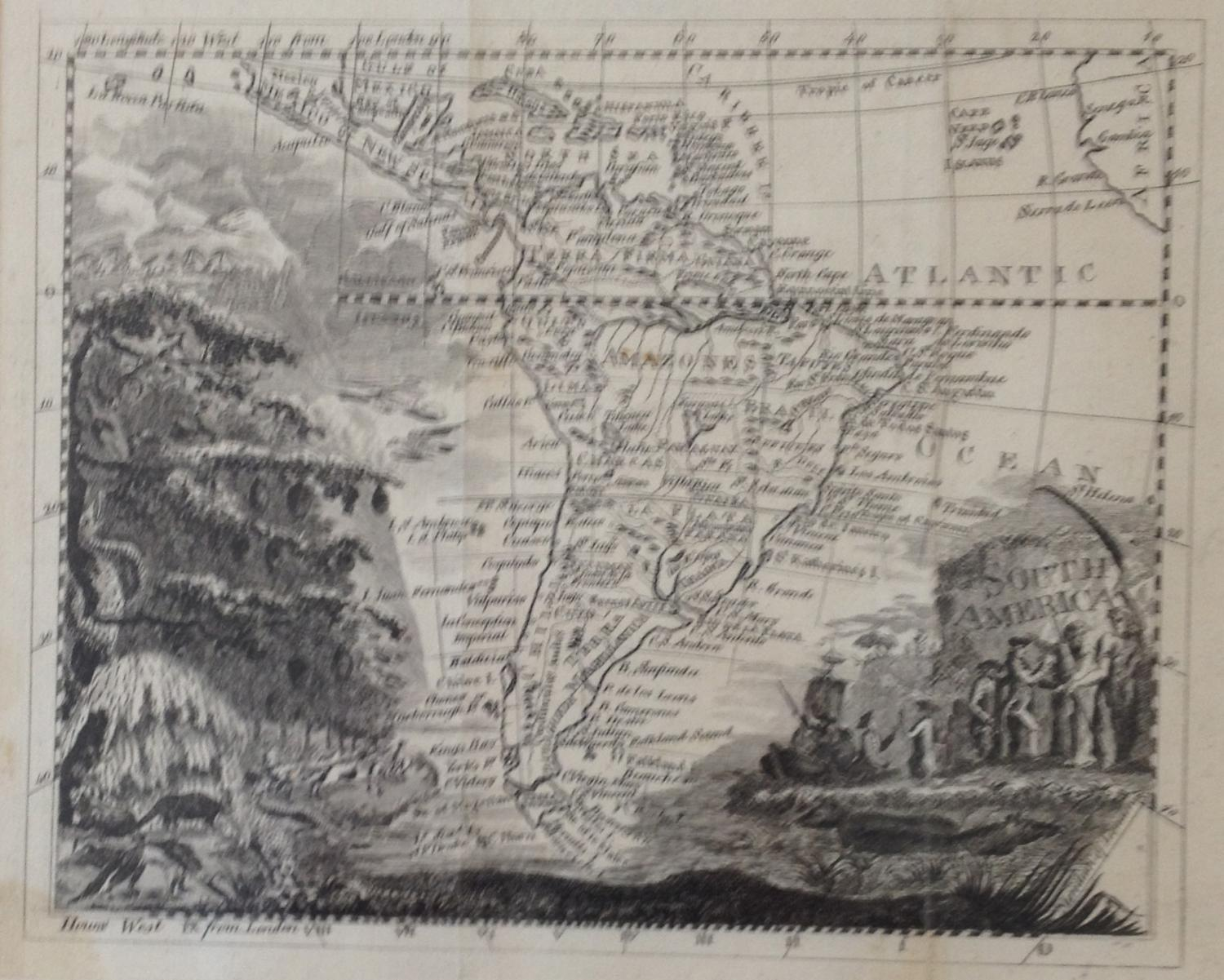Anonymous mapmaker - South America