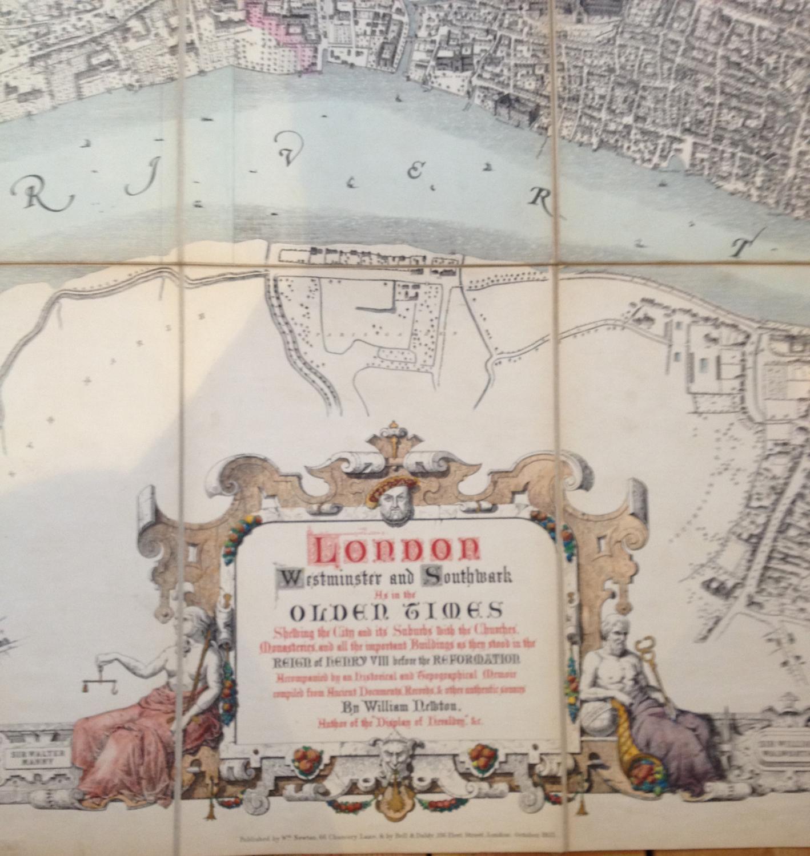 Newton - London in Olden Times