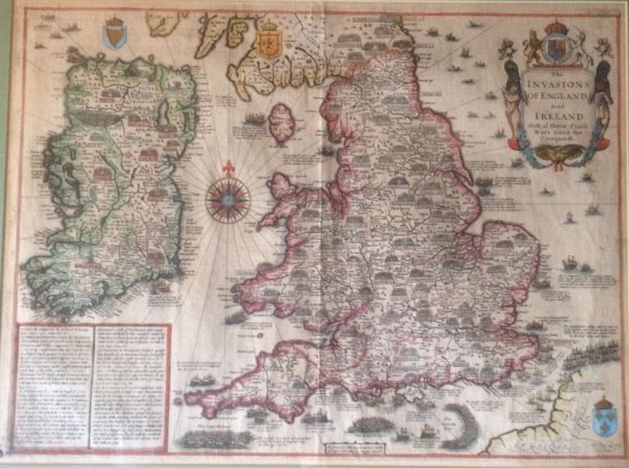 John Speed - The Invasions of England and Ire