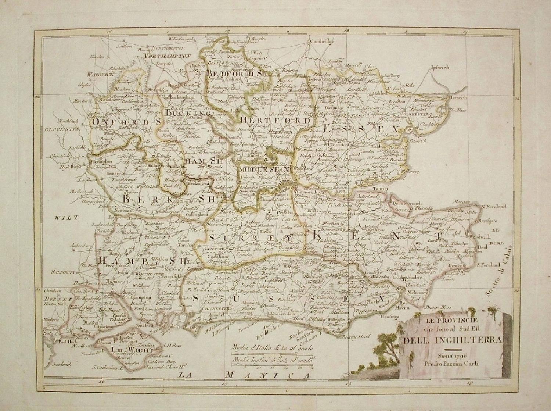 Borghi - Le Provincie del Inghilterra