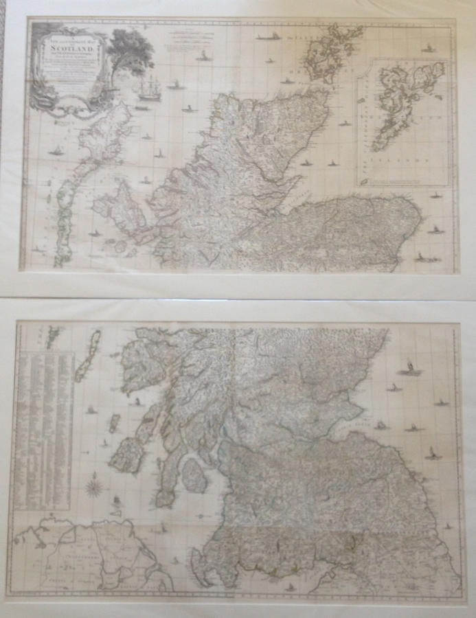 Kitchen - A New and Complete Map of Scotland