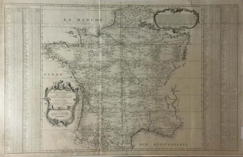 Cassini - Nouvelles cartes... de la France