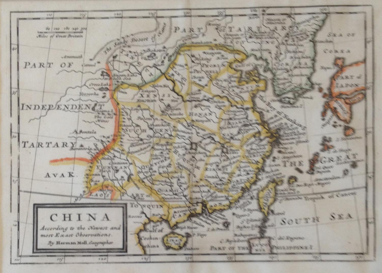Moll - China According to the Newest ,, Obser