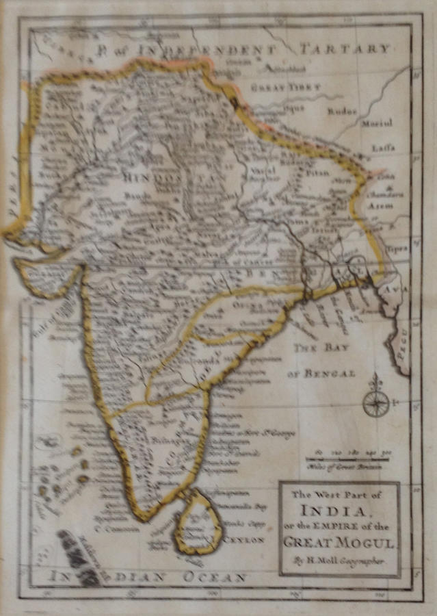 Moll - The West Part of India...