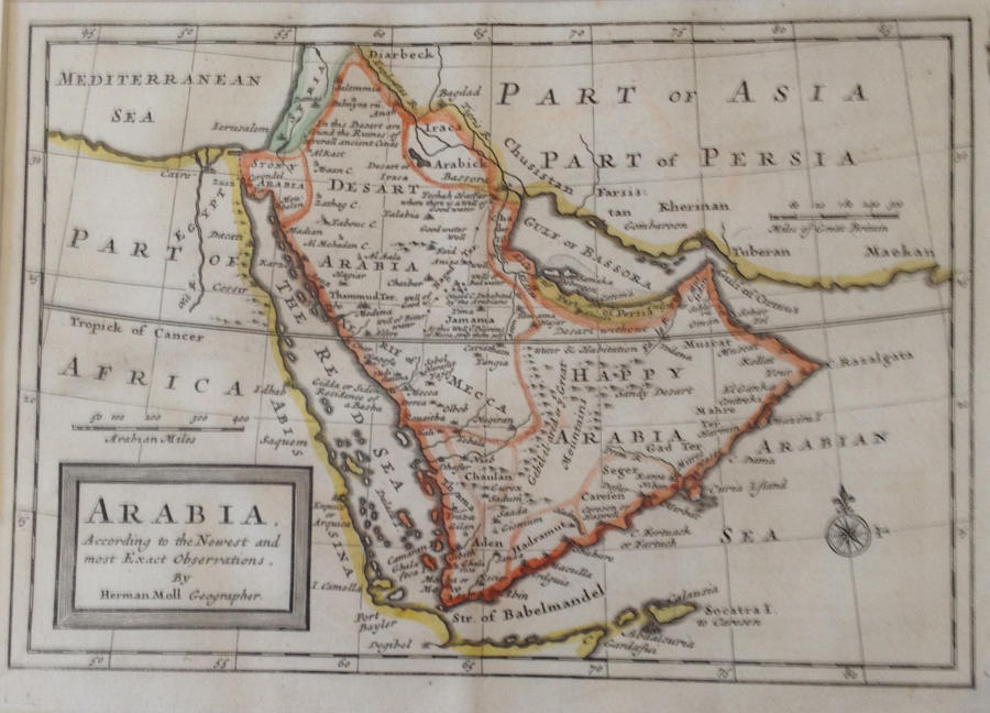 Moll - Arabia According to the Newest.. Obser