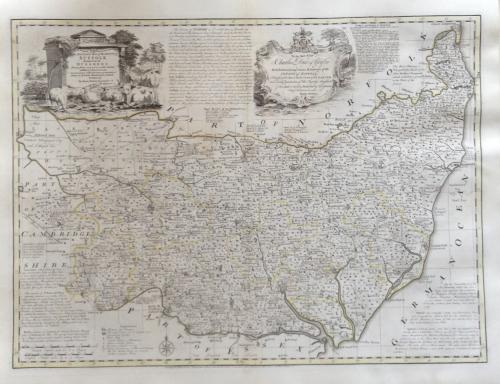 Bowen - Accurate Map of the County of Suffolk
