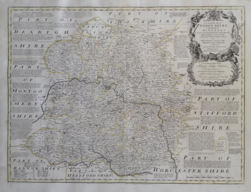 Bowen - Accurate Map of the County of Shropsh