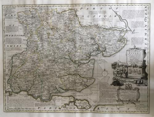 Bowen - Accurate Map of the County of Essex