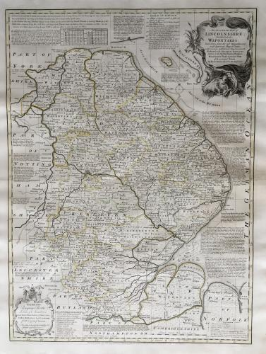 Bowen - Accurate Map of Lincolnshire
