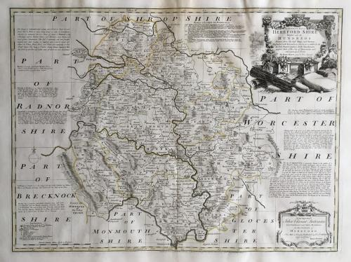 Bowen - Accurate Map of Herefordshire