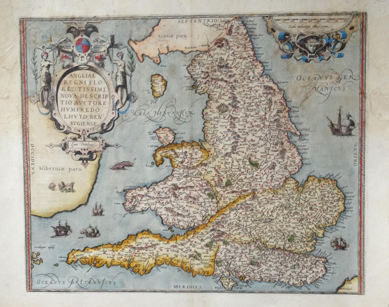 Ortelius - Angliae Regni