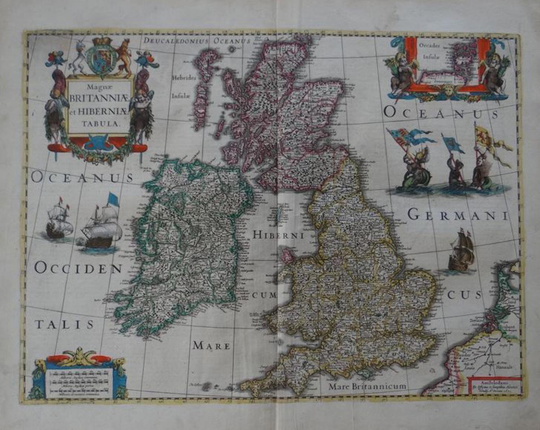 Jansson - Magnae Britanniae et Hiberniae Tabu