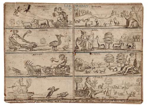 Overton - Print of the Seasons and Continents