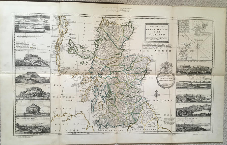 Herman Moll - Moll's Scotland 1714