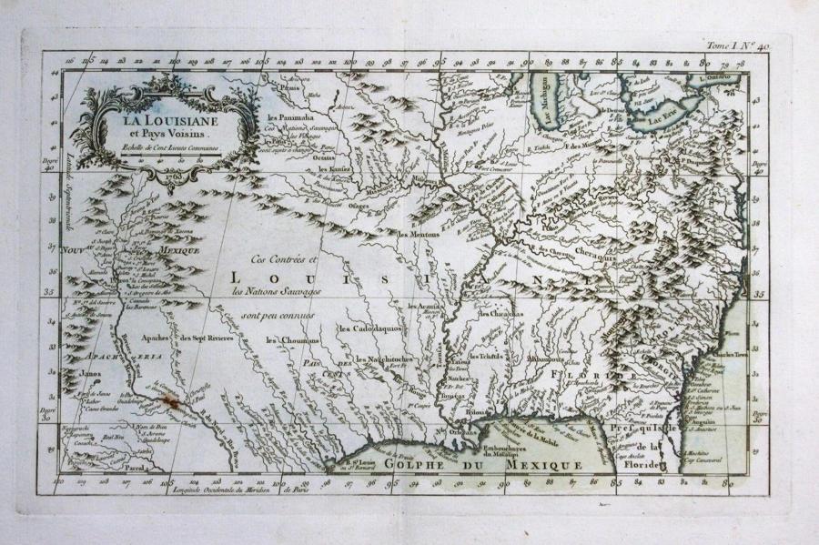 Bellin - La Louisiane et Pays Voisins