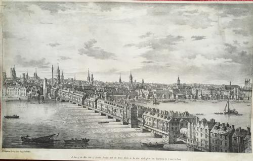Martin -A View of the West Side London Bridge