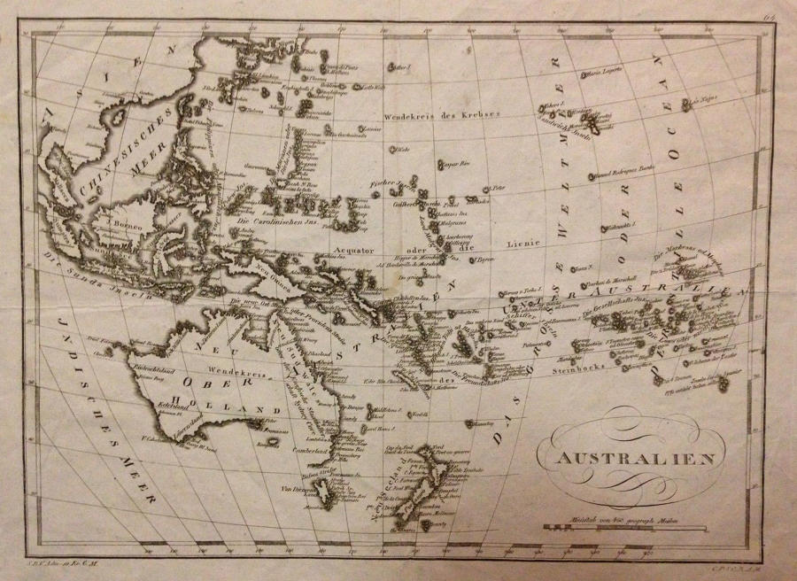 Australien - Anonymous mapmaker