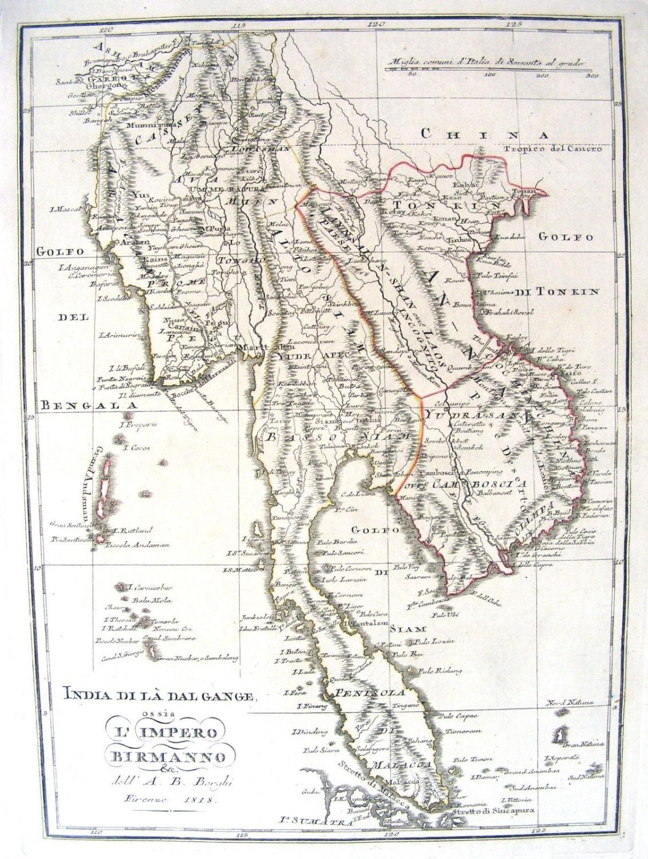 Borghi - India Di La Dal Gange